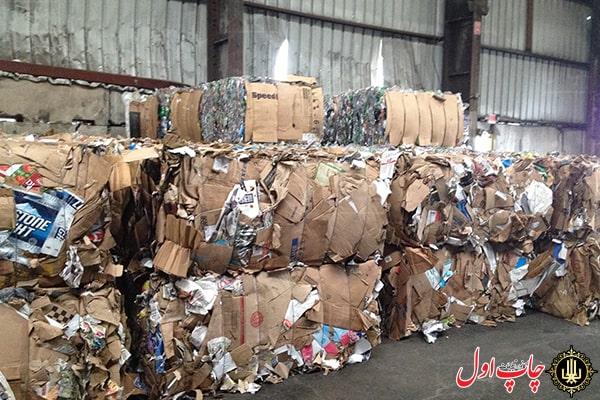 دفع پسماند کارخانه کاغذ اترک