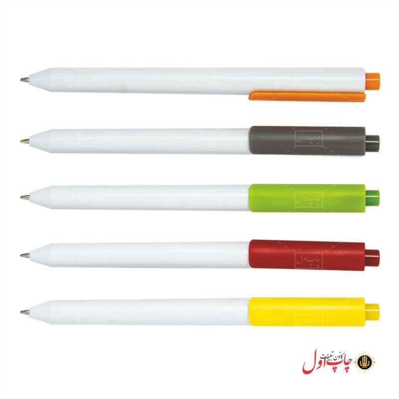 خودکار تبلیغاتی مدل برفی سفید